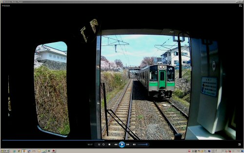 033左沢線山形桜車窓.JPG